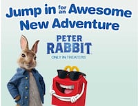 McDonald's Happy Meal Peter Rabbit Toys 2018 Markham, L6B 0V5
