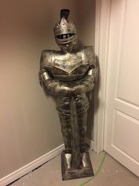 Knight in shining armour.  Vaughan