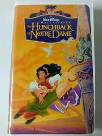 The Hunchback of Notre Dame vhs Baltimore