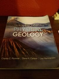 Physical Geology textbook Fullerton, 92833