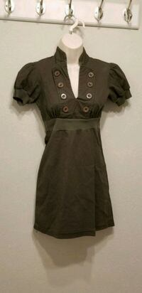 Olive green dress,  size small Los Angeles, 91401