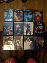 """several DVD cases, and the """"Blade Collection""""  Chillicothe, 45601"""