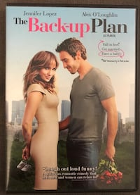 The Backup Plan DVD mint condition 779 km