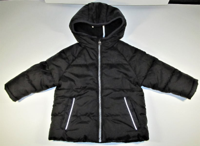 18 MONTHS BOYS WONDER NATION BLACK WINTER COAT 1