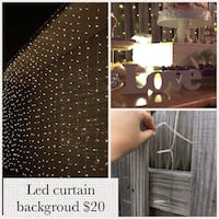 Led curtain panel outdoor or indoor use Deerfield Beach, 33064