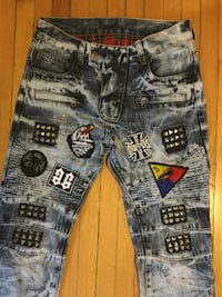 Size 31 can fit 30 NEW Men fashionable Denim style tight Jeans 547 km