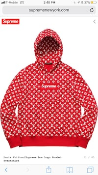 red and white zip-up hoodie Summerville, 29483