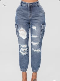 Size 15 NEW distressed jeans Mississauga, L5V
