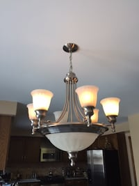 Light  fixture Kitchen Dining Room    WOODBRIDGE