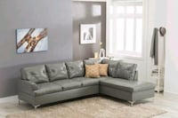 Vintage Gray Sectional   Houston