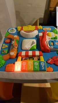 toddler's multicolored activity table St. Louis, 63139