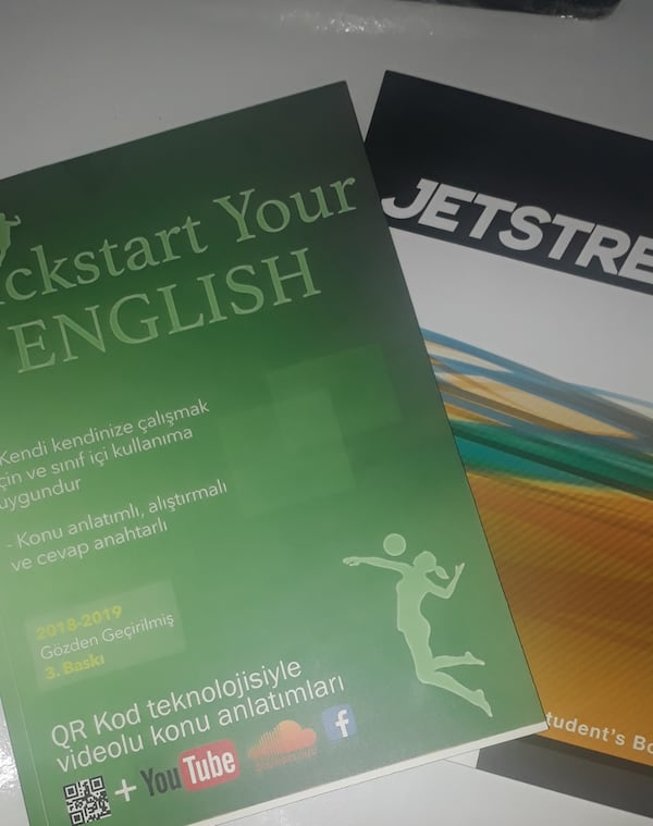 Jetstream beginner + Kickstart Your English 2