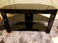 Metal and glass TV stand  Milton, 02186