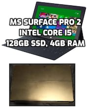 """*firm price* 10.6"""" Microsoft Surface Pro 2 - Intel Core i5, 128GB SSD, 4GB RAM, MS Office (pick up only) Toronto"""