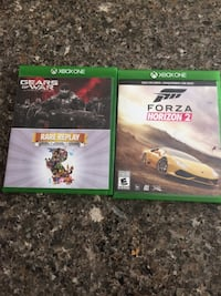 4 Xbox one games Whitby, L1M 2K5