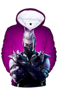 Fortnite Sweat Shirts- Leviathan, Drift, Sanctum, Raven