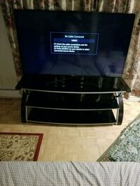 Samsung LED 55 inch & TV glass stand Laval, H7W 4W5