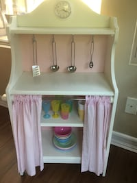 Pottery barn wood pink and white kitchen San Diego, 92127