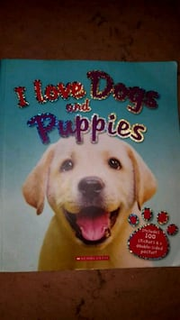 I love dogs and puppies book