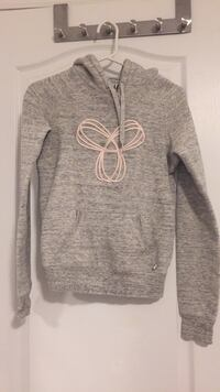 Aritzia Gray and white pullover hoodie Markham, L6B