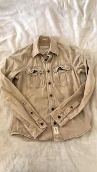 brown button-up jacket ロサンゼルス, 90034
