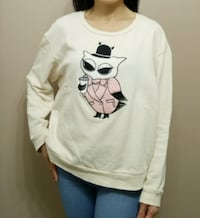 Sweatshirt by tout a' coup (Japanese brand) (size s) Calgary