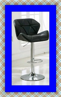 Black bar stool McLean
