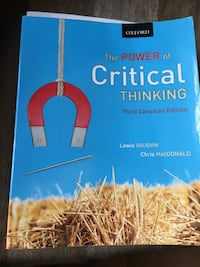 Critical Thinking book Mississauga, L5B 3Z1