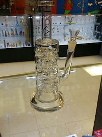 Used clear glass water bong for sale in Lincoln - letgo 23e23ff7e