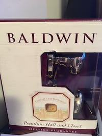 Baldwin doorknob set package Fairfax, 22032
