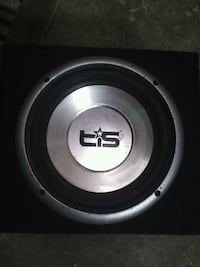 "10"" car subwoofer and box"