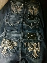 3 pair of Miss me jeans Downsville, 71234