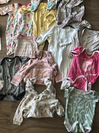 Baby girl clothing size no-6m Mississauga, L5B 1L9