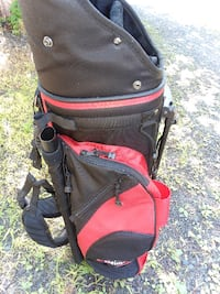 black and red golf bag Rock Hill