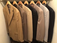 (7) Men's sport coats ($20 each) Napa, 94558