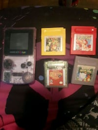 Gameboy color with games  Riverview, E1B 5B1