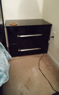 Black Lacquer bedroom furniture null