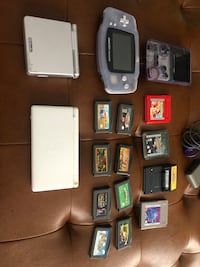 Assorted Nintendo Game Boys and Games Mississauga, L5M 5X9