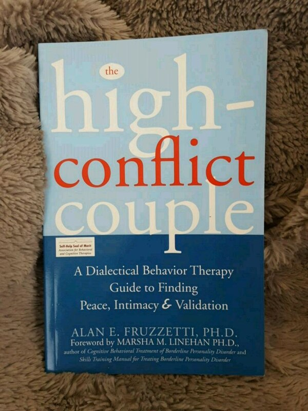 The High Conflict Couple - A DBT Guide