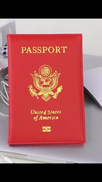 Passport Cover USA Garden Grove, 92843