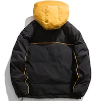CHECKUZO LUZULO WINDPROOF COTTON HOODED JACKET
