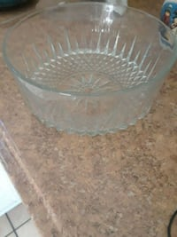round crystal glass bowl  Ceres, 95307