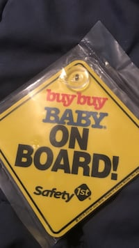 Safety 1st buy buy baby on board! suction signage