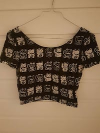Crop top str S Bodø, 8028