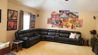 Black sectional Charlotte, 28278