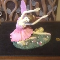Pink fairy/sparkles on wings numbered and collecta Welland, L3C