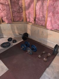 Dumbbells and Barbell with Weighted Plates Marietta, 30062