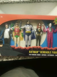 Classic Batman bendable figures  Albuquerque, 87121