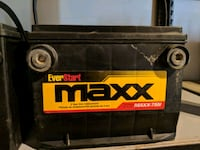 black and yellow Stanley tool box Division No. 6, T1X 0K3