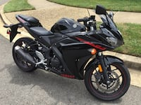 2015 Yamaha R3 with 7k Miles Falls Church